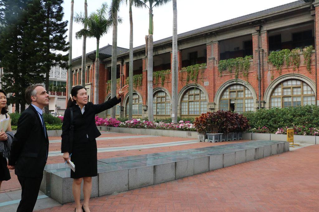 Hsinchu visite du directeur plac e sous le signe des for Chambre de commerce france chine