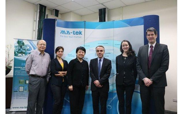 Hsinchu visite du directeur plac e sous le signe des nouvelles la france taiwan - Bureau des relations internationales ...